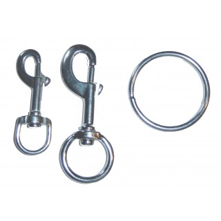 Stainless Steel Piston clips and Billy rings